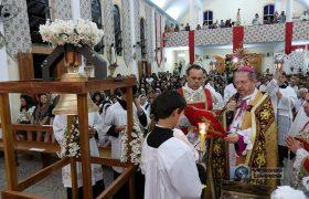 Consagração dos Sinos da Paróquia Pessoal de Nossa Senhora das Graças e São Sebastião