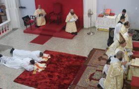 Ordenação Diaconal e Recepção de Ordens Menores (Exorcistato e Acolitato)