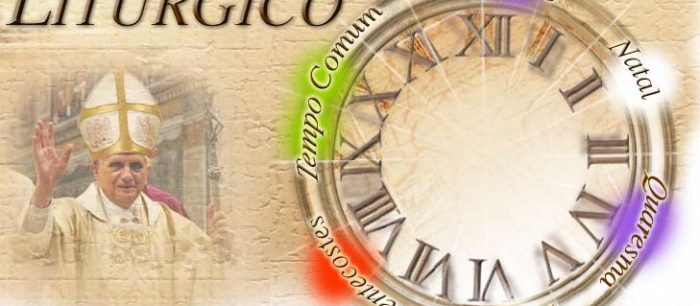 A divisão do ano eclesiástico na Forma Extraordinária