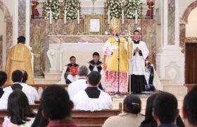 Festa da Imaculada Conceição no seminário